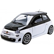 Motormax 1:18 Fiat 500 Abarth Die cast Model Car, May Vary