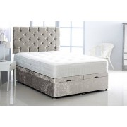 Serene Living From £349 instead of £684.99 (from Serene) for a crushed velvet ottoman bed - choose from five sizes and seven colours and save up to 49%