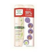 Klorane Duo Shampoo Secco All'Ortica 2 X 150 Ml