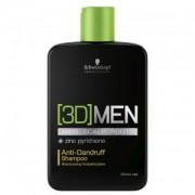 Schwarzkopf 3D Men Anti-Dandruff Shampoo 250ml