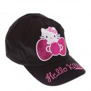 Hello Kitty Ribbon fekete lány sapka