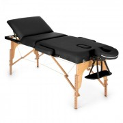MT 500 Lettino Da Massaggio 210 cm 200 kgPieghevole Schiuma a Celle Chiuse Borsone Nero