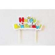 Lumanare HAPPY BIRTHDAY