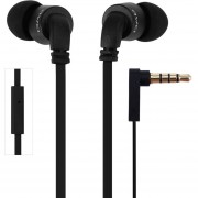 Audífonos Bluetooth Manos Llibres, Awei ES-13i Aislamiento De Ruido In-ear Portable Super Bass Auricular (Negro)