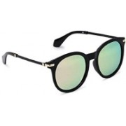 MARC LOUIS Oval Sunglasses(Green)