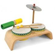 Green Tones / Award-Winning Beginner Drum Set