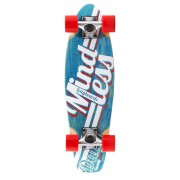 "Cruiser Mindless Longboards Daily Stained blue/white 24""/61cm"
