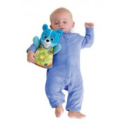 VTech Early Education Toy Baby Soothing Slumbers Bedtime Bear Music, Blue Toy for Kids