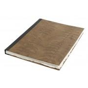Nordal Notebook Löv Läder Large
