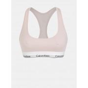 Calvin Klein pudrová sportovní podprsenka Bralette