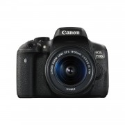 Canon EOS 750D con objetivo 18-55mm IS STM - Negro