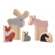 Kids Concept Lesní zvířata dřevěná Edvin