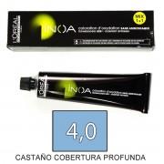 Loreal INOA 4,0 Castaño Cobertura Profunda - tinte 60grs