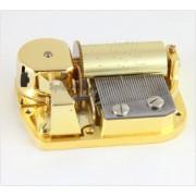 Spieluhr.de Spielwerke Musikwerk-Spieluhr-Spielwerk 30 Töne Laufwerk, Melodie wählbar für Bastler Mozarts Wiegenlied