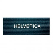 Quartet Characters for Felt Letter Boards 1 Inch Helvetica White 300 Letters Numbers and Symbols (4423)