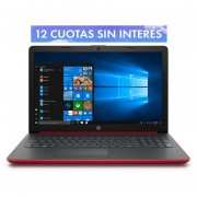 Notebook HP 15-da0061la Intel i5 8va Win 10 RAM 8 GB GeForce MX110 DD 1 TB 15.6''