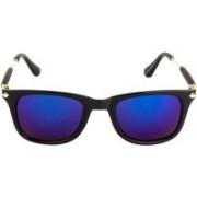 Criba Retro Square Sunglasses(Blue)