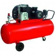 Compressore aria professionale 200 lt / 380v / 2 cilindri / trasmissione cinghia / hp.3