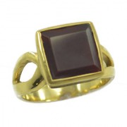 Red Onyx Gold Pleted Ring magnetic Red exporter Indian gift