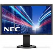"Monitor IPS LED NEC MultiSync 23.8"" E243WMi, Full HD (1920 x 1080), DVI, VGA, DisplayPort, 6 ms, Boxe, Pivot (Negru)"