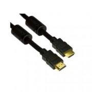 Кабел VCom CG511, от HDMI(м) към HDMI(м), 1.8м, черен, позлатени конектори