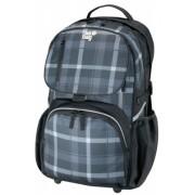 Rucsac Be.Bag Cube carouri negru/gri Herlitz