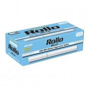 200 Tubes cigarettes 100s Rollo Bleu