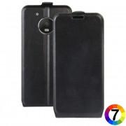 Motorola Moto G5 Флип Кожен Калъф и Протектор