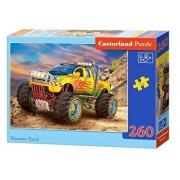 Puzzle Monster Truck, 260 piese