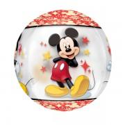 Mickey Mouse átlátszó gömb 38X40