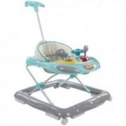 Premergator Cu Control Parental Super Car Sun Baby Turcoaz Cu Gri