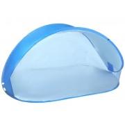 Plážový stan POP-UP Springos 220 x 120 CM - modrý