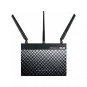 Рутер Asus RT-AC1900U, 1900Mbps, 2.4 GHz (600Mbps)/5 GHz (1300 Mbps), 4x LAN 10/100/1000, 1x WAN 10/100/1000, 2x USB, 3 външни антени