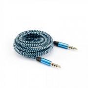 Cavo Audio Stereo Jack 3.5 mm M/M 1,5m Azzurro
