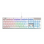 Cooler Master SK650 RGB Keyboard; Brushed Aluminum;Standard Layout; Red Cherry MX Low Prof