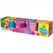 Комплект Бои за рисуване с пръсти, 4 цвята, за момиче, 080849