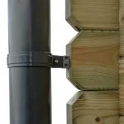 Dakgoot Set voor Tuinhuis Ø10 cm - D450 cm