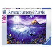 Puzzle Balene in lumina lunii, 1000 piese