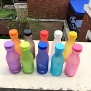 Plastová fľaša na pitie TMAVO MODRÁ