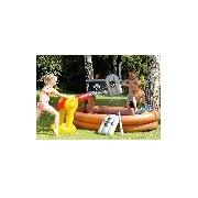 Kalózhajó felfújható medence játékokkal