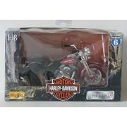 Maisto Harley-Davidson Series 6, 1:18 Scale FLSTS Heritage Springer 1999