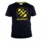 T-Shirt FREEGUN jersey Logo Jaune