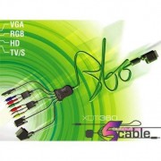 Third Party Cable XCM 5 Sorties pour XBOX 360 0583215013022