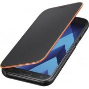 Samsung neon flip cover - zwart - voor Samsung Galaxy A3 2017