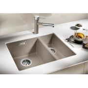 BLANCO SUBLINE 340/160-U gránit mosogatótálca – balos - tartufo