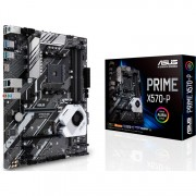 ASUS PRIME X570-P, socket AM4 moederbord RAID, Gb-LAN, Sound, ATX