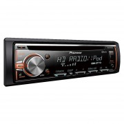 Autoestereo Pioneer Deh-X5800HD, Usb iPhone Control Android HD Radio Aux-In MP3-Negro