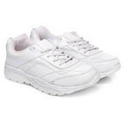 Unistar Walking Shoes; ST-01-White