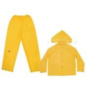 Custom Leathercraft CLC lluvia Wear .10 mm 3 piezas traje impermeable de PVC