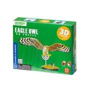 Thames & Kosmos Eagle Owl 3D Puzzle Diorama